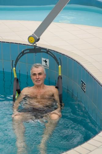 Handi-Move  - Classic spreader bar , Mobile pool lift  , Bath seat PVC, Body support systems