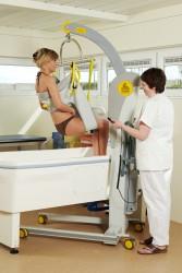 Handi-Move  - Mobile hoist 2600 (Victor) , Bathing sling