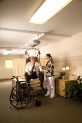 Handi-Move  - Ceiling motor , Ceiling track rail  , XXL slings