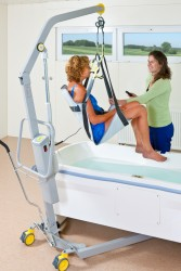 Handi-Move  - Classic spreader bar , Mobile hoist 1640 , Bath seat PVC
