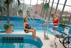 Handi-Move  - Mobile pool lift  , Handi-Move Body Support®